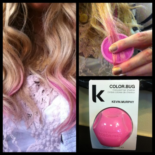 fete style bar now carries color bugs by kevin murphyits a hair chalk that is easily applied to dry hair and whashes out - Color Bug Kevin Murphy